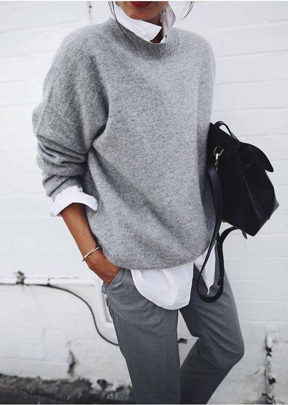 stylish layered look