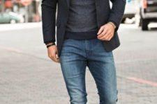 casual jeans men's look