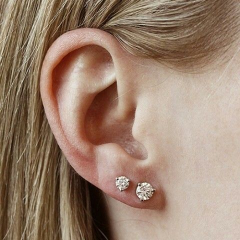 diamond studs of any shape are timeless classics, don't hesitate to buy them
