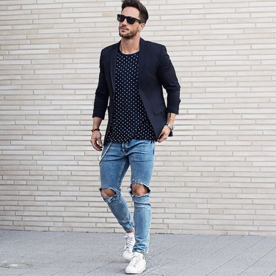 15 Chic Jeans And A Blazer Outfits For Men - Styleoholic