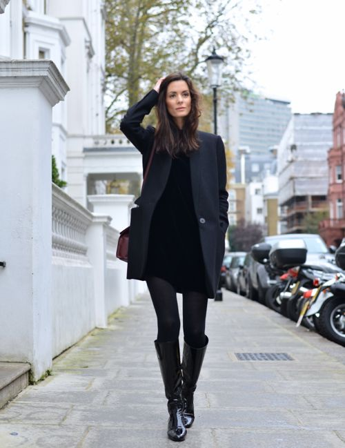 How To Style A Little Black Dress For Fall 15 Ideas