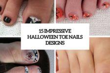 15 impressive halloween toe nails designs cover