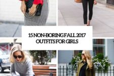 15 non-boring fall 2017 work outfits for girls cover