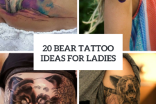 20 Bear Tattoo Ideas For Girls To Repeat