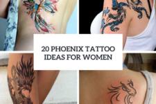 20 Beautiful Phoenix Tattoo Ideas For Ladies