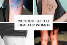 20 Cute Cloud Tattoo Ideas For Women