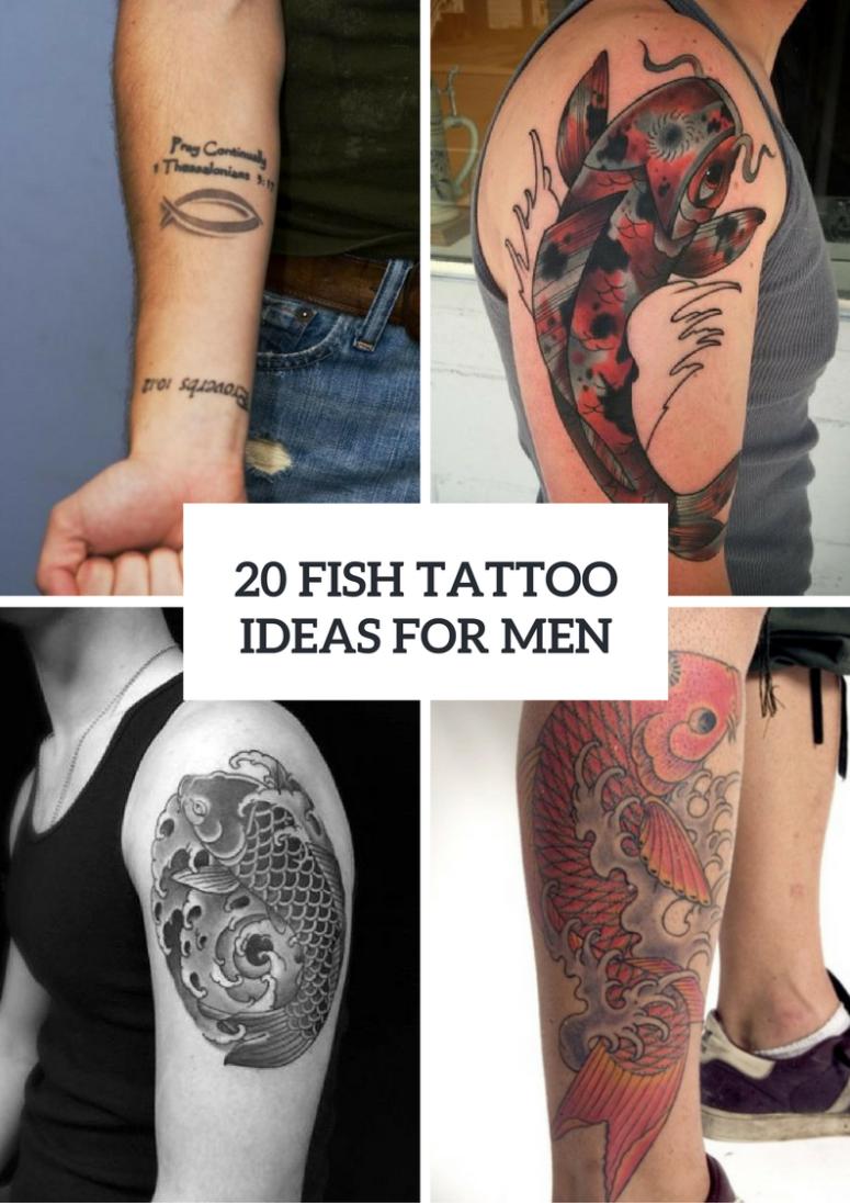 20 Fish Tattoo Ideas For Men