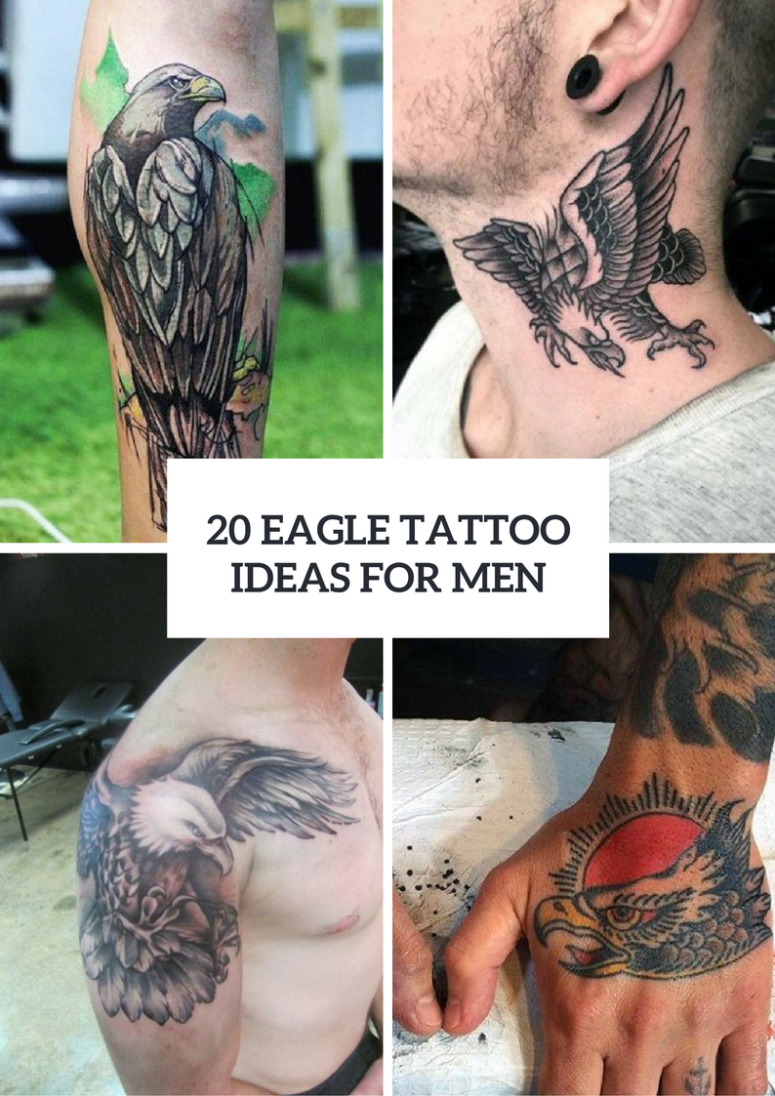 20 Gorgeous Eagle Tattoo Ideas For Men