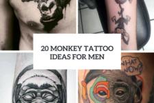 20 Monkey Tattoo Design Ideas For Men