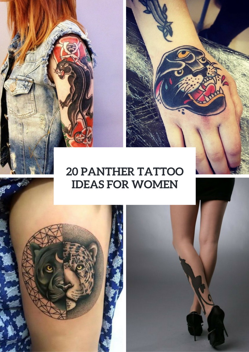 Panther Tattoo Design Ideas For Girls To Repeat