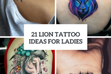 21 Awesome Lion Tattoo Ideas For Women