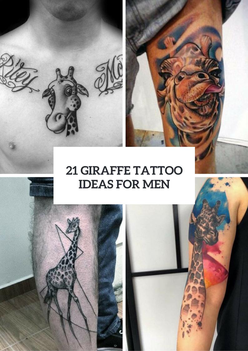 Giraffe Tattoo Design Ideas For Men