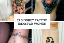 21 Monkey Tattoo Ideas For Women To Repeat