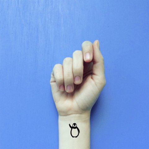 Awesome and simple tattoo on the wrist
