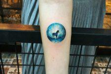 Beautiful tattoo idea on the forearm