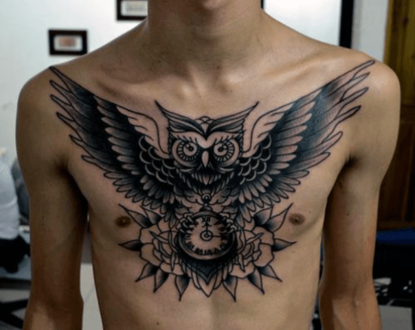 20 Men Owl Tattoo Ideas To Get Inspired - Styleoholic