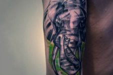 Cool tattoo on the arm