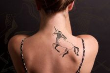 Cool tattoo on the back