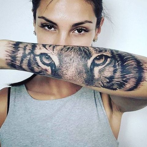 21 Tiger Tattoo Ideas For Ladies Styleoholic