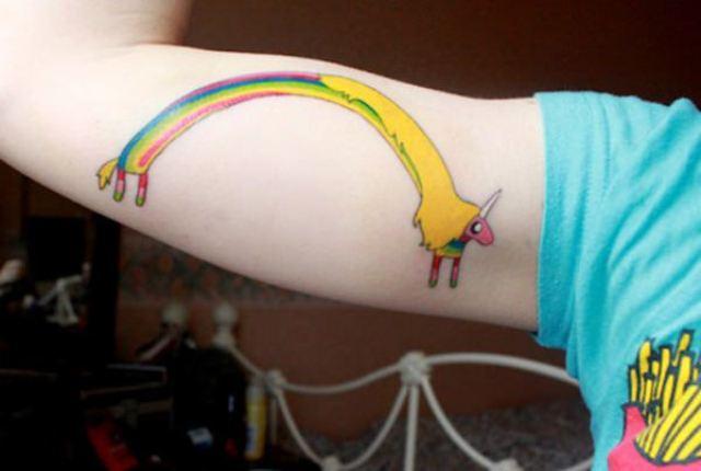 Unique tattoo design