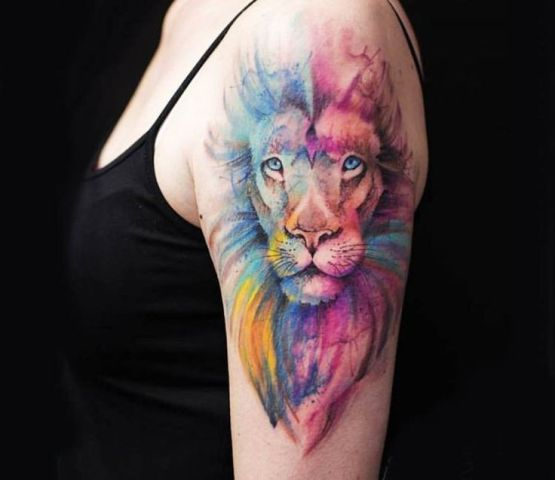 21 Awesome Lion Tattoo Ideas For Women Styleoholic