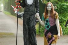 05 Jack skellington and Sally costumes from Nightmare Before Christmas