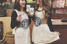 06 best friend Stabucks costumes inspired by drinks