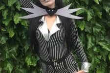 sexy halloween costume inspired by tim burton's movie