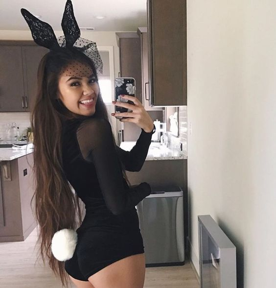 Playboy Bunny Costumes Before you step out in a classic bunny costume, take a few moments to learn their most iconic poses. All bunnies who worked in the Playboy Club had to know the bunny stance, the bunny dip and the bunny perch in order to be successful at their jobs.