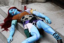 15 Sally from Nightmare Before Christmas in a bold costume and with red hair
