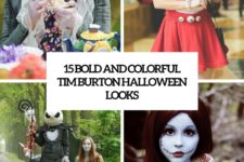 15 bold and colorful tim burton halloween looks cover