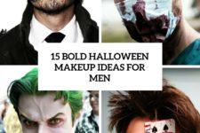 15 bold halloween makeup ideas for men cover