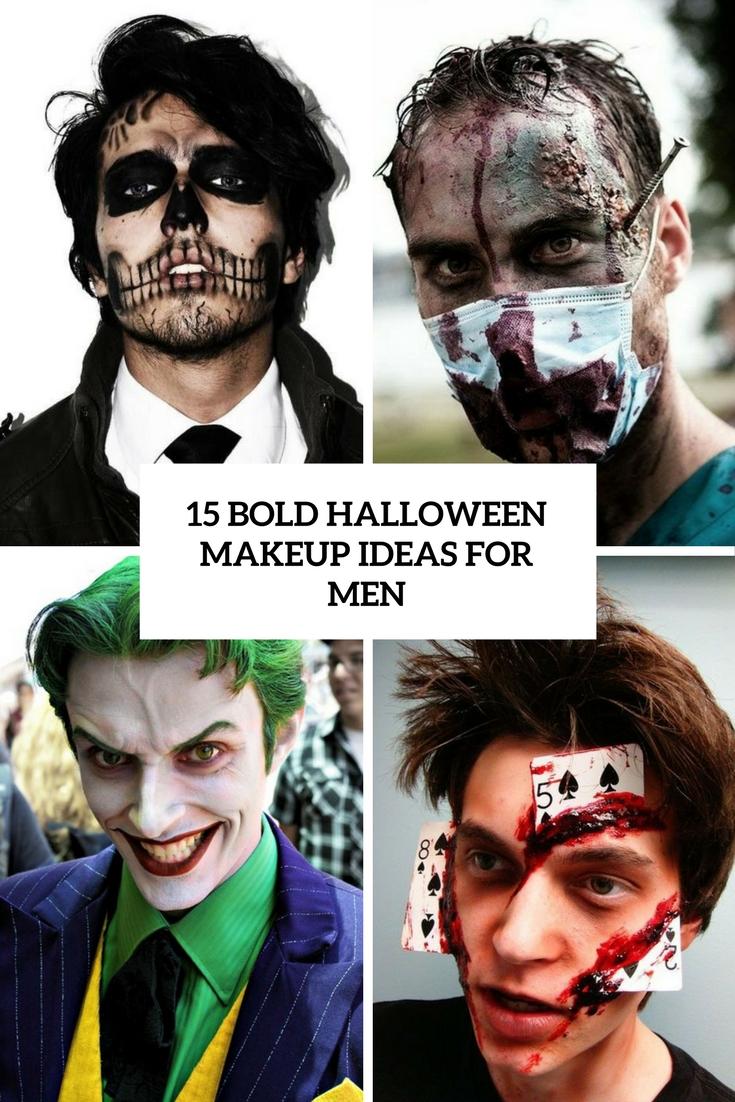 15 Bold Halloween Makeup Ideas For Men