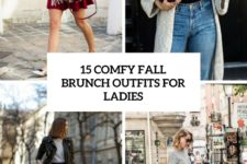 15 comfy fall brunch outfits for ladies cover