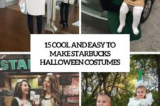 15 cool and easy to make starbucks halloween costumes cover