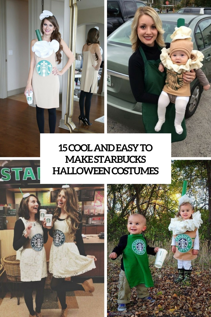 15 Cool And Easy To Make Starbucks Halloween Costumes