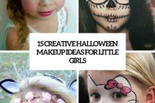 15 creative halloween makeup ideas for little girls cover