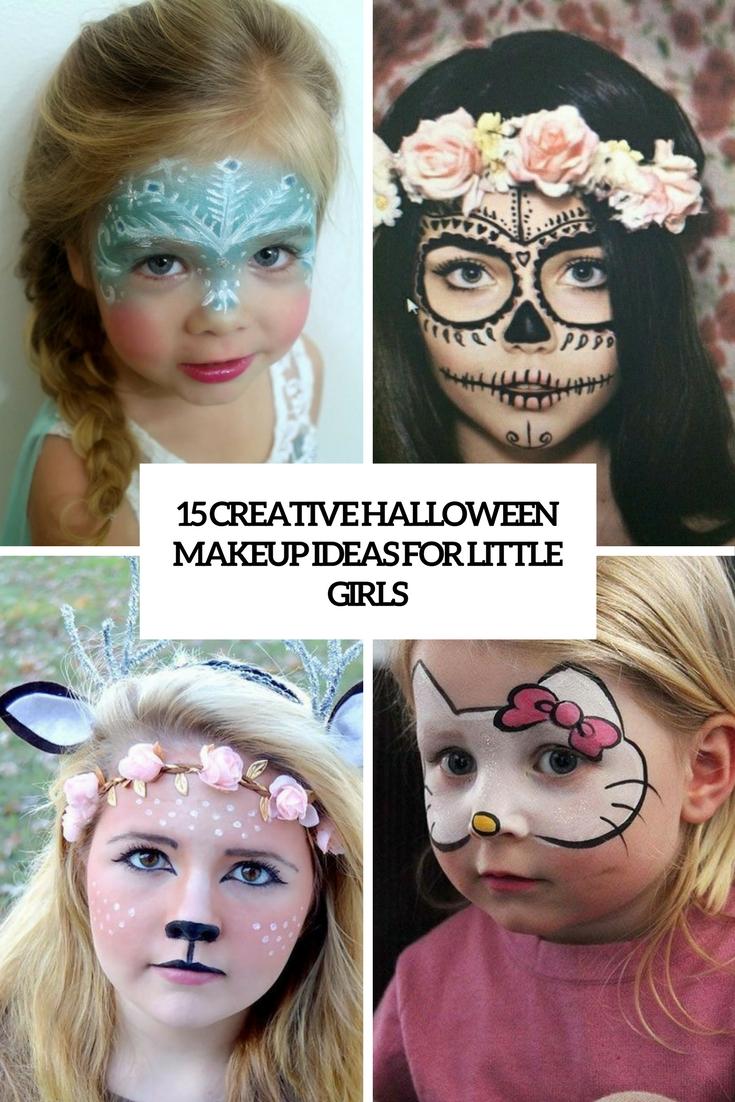 15 Creative Halloween Makeup Ideas For Little Girls