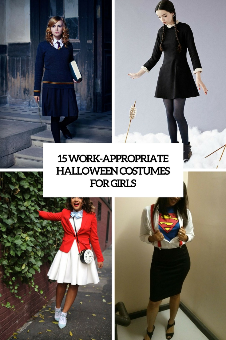 15 Work-Appropriate Halloween Costumes For Girls