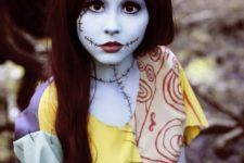 16 Sally from Nightmare Before Christmas looks bold and cute at the same time