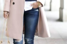 ripped jeans fall look