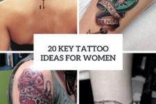 20 Charming Key Tattoo Ideas For Women