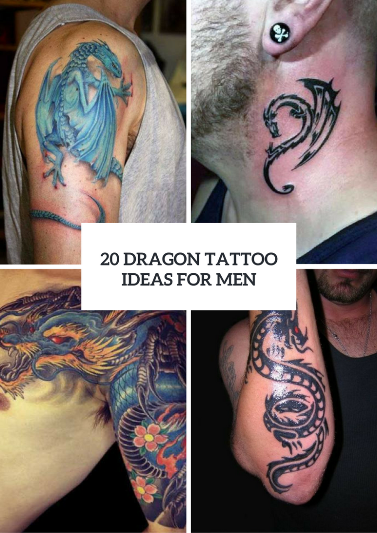20 Dragon Tattoo Design Ideas For Men