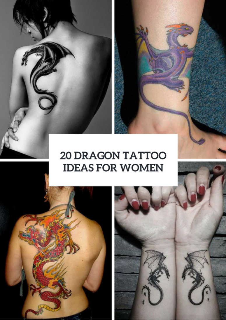 20 Dragon Tattoo Ideas For Ladies To Repeat