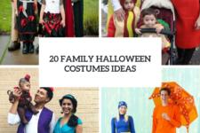 20 Family Halloween Costumes Ideas