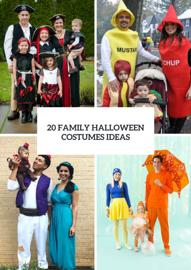 20 Family Halloween Costumes Ideas