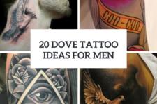20 Gorgeous Dove Tattoo Ideas For Men