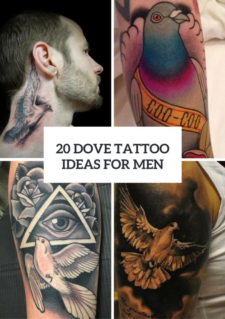 20 Gorgeous Dove Tattoo Ideas For Men