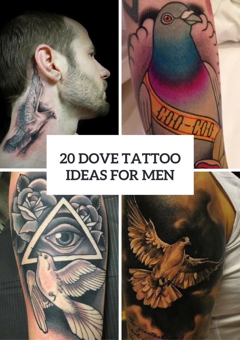 Gorgeous Dove Tattoo Ideas For Men