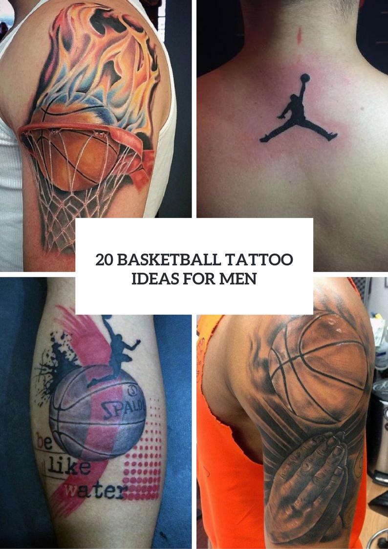 Men Basketball Tattoo Ideas To Repeat